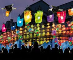 Magnificent festival of lights in Lyon! Must visit!!