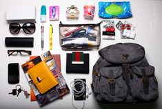 what's in my bag ? *Explored*, via Flickr. #photography #girly #prada #gucci #dior