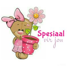 Spesiaal vir jou Thinking Of You Today, Afrikaanse Quotes, Goeie More, Wisdom Quotes, Winnie The Pooh, Emoji, Pikachu, Disney Characters, Fictional Characters