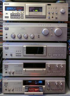 Diy Amplifier, Audiophile Speakers, Hifi Audio, Mini System, Video Cd, Retro Radios, Digital Audio, Vintage Music, Old Tv