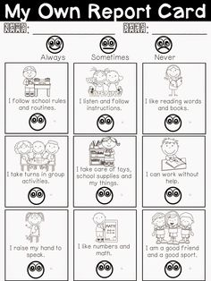 Free LanguageEnglish Report Card Comments Click On The Link