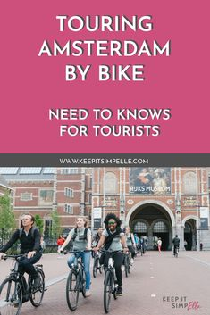 Amsterdam e-Bike Tour with Shimano 59724be69