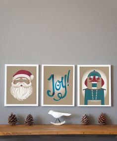 Vintage Holiday Collection Print Set