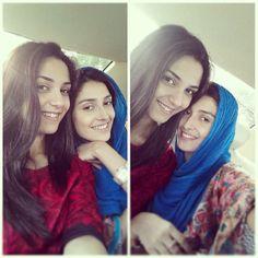 Maya ali and ayeza khan