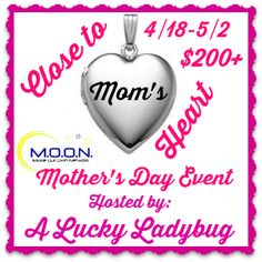 Enter to #win a gorgeous personalized locket from Pictures on Gold in the Close to Mom's Heart #Giveaway! ARV $200+, ends May 2 (11:59pm).