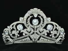 Free Shipping Stunning Bridal Flower Tiara Crown Clear Zircon Rhinestone Crystals 24356R-in Hair Jewelry from Jewelry on Aliexpress.com