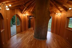 Fairytale Castle tree house interior by Blue Forest Beautiful Tree Houses, Cool Tree Houses, Luxury Tree Houses, Tree House Interior, Modern Tree House, Tree House Plans, Tree House Homes, Diy Tree House, Tree House Designs