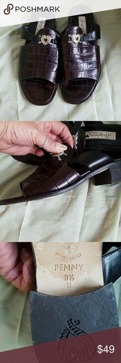 Brighton leather sandals Alligator leather sandals Brighton  Shoes Sandals