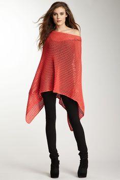 Minnie Rose Crochet Poncho