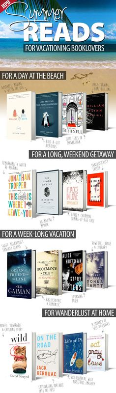 Summer book recommendations.