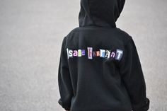 Well I haven't done a sewing project in a while so I was excited to dust off my machine and do a simple one for you today. I call it my Ransom Note Sweatshirt. Here in the Midwest we are in that i...