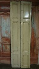 C00a (23 x 80 1/2) Pair of Old Victorian Pine Cupboard Doors in N Yorkshire