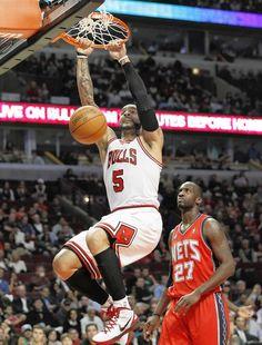 DUNK! Bulls 110, Nets 95. (Jan. 23, 2012)