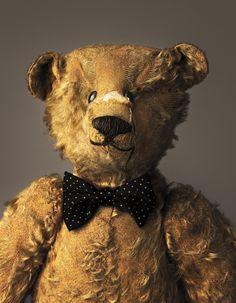 Edward, age 104  teddy bear