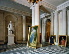 Robert Polidori | Vestibule, (73) AMI.01.009, Salles Empire, Aile du Midi - R.d.C., Château de Versailles, France (1985), Available for Sale | Artsy