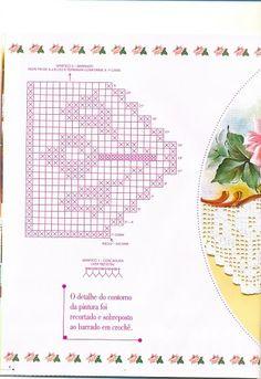 Bicos de croche - Fatima Nega - Álbuns da web do Picasa