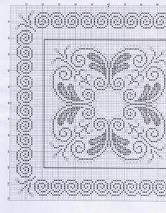 Gallery.ru / Фото #29 - 2 - necklace Embroidery Needles, Ribbon Embroidery, Cross Stitch Embroidery, Embroidery Patterns, Cross Stitch Patterns, Annie's Crochet, Irish Crochet, Pinterest Cross Stitch, Filet Crochet Charts
