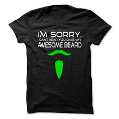 [Popular Tshirt name tags] Awesome Beard Coupon 10% Hoodies, Funny Tee Shirts