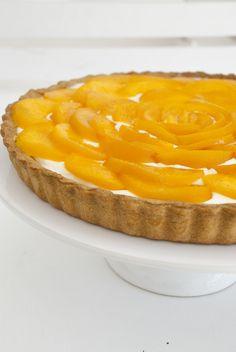 Pie de melocotón / Peach pie #fraulatartas #tartasmallorca #fraulacatering