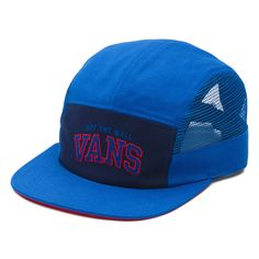 Vans Meshed 5 panel hat classic blue / peacoat / reinvent red