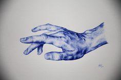 Biro drawing of a hand biro art, ballpoint pen drawing, biro drawing sketch Biro Drawing Sketches, Life Drawing, Art Sketches, Painting & Drawing, Art Drawings, Biro Art, Ballpoint Pen Drawing, Arte Gcse, Stylo Art