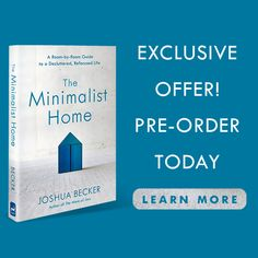Buy The Minimalist Home Joshua Becker, Coach Me, Decluttering, Minimalist Home, Make You Feel, New Books, Worksheets, Rid, Minimalism