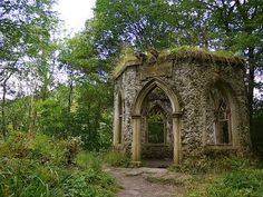 folly ruins....I would like fake ruins in my garden and scattered about my property, just for a bit of fun when I have guests over ;)