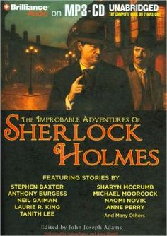 The Improbable Adventures of Sherlock Holmes - MP# CD Book.