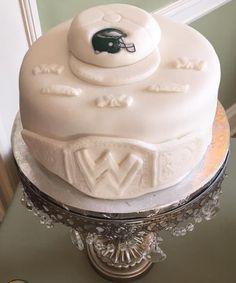 Groom's cake, WWE, Eagles and Nascar