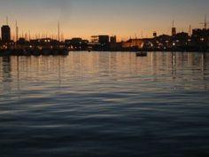 マルセイユの夕景