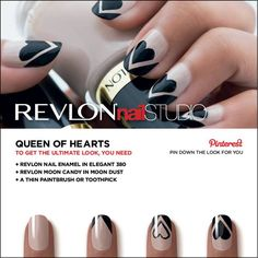 Revlon Nail Studio | Queen of Hearts #NailArt