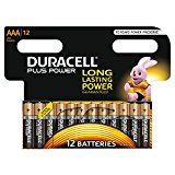 Duracell Plus Power Type AAA Alkaline Batteries, Pack of 12 by Duracell  (1782)Buy new:  £8.49  £6.21 37 used & new from £5.88(Visit the Bestsellers in Electronics list for authoritative information on this product's current rank.) Amazon.co.uk: Bestsellers in Electronics...