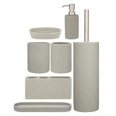 Buy John Lewis Dune Bathroom Accessories Online at johnlewis.com
