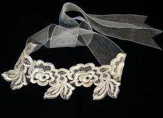 Lace wedding headband Wedding Fascinator Handmade Wedding