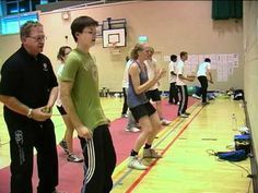 Agility training for fencing