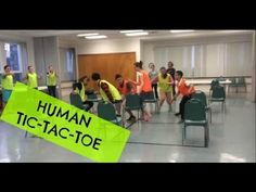 Human Tic-Tac-Toe | Oh, the Fun