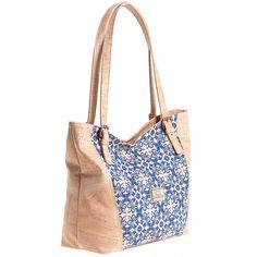 Kork Handtasche «Azulejos» von Montado – Vegane Tasche aus Kork Tiles, Personal Style, Laptop Tote, Fanny Pack, Sustainable Fashion, Pocket Wallet, Handbags, Leather