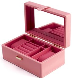 How about this wooden jewelry box, pink box that i can put my  jewelry in, i want it !