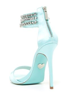 Image of Betsey Johnson Marry Embellished Sandal Fab Shoes, Pretty Shoes, Crazy Shoes, Sock Shoes, Cute Shoes, Me Too Shoes, Shoe Boots, Shoes Heels, Pumps