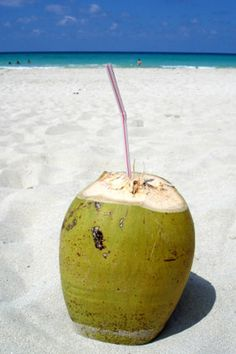 Sip Coconut Water    Dehydration is a common side effect of vacations, thanks to tropical climates, summer heat, and the sweating that goes with them. To refuel on electrolytes (the essential minerals that keep your body's fluids in balance), drink a bottle of coconut water. A new study shows that it rehydrates the body just as well as a specially formulated sports drink, without all the added sugars, preservatives, and artificial colors.