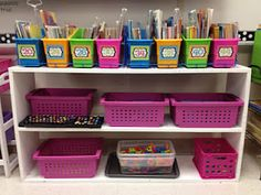 Ideas for Literacy Table - Scrabble, Spelling, Magnet Word, Type-it, Stamp-it, Game Boards, Boggle, Shake It Up!