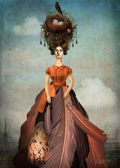 Portrait 09 The ethereal, dreamy artwork of Catrin Welz Stein  http://catrinwelzstein.blogspot.com/