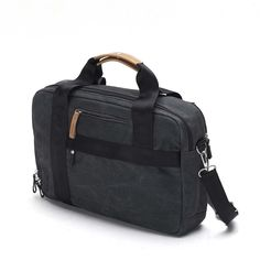 Qwstion - Office Bag Washed Black