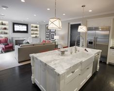 Kitchen And Family Room Layouts Design, Pictures, Remodel, Decor and Ideas - page 4
