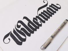 Wilderman Logo by Drew Melton in Logos