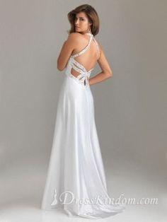A Line Halter Military Ball Dresses / Prom Dresses [10106963] - US$139.99 : DressKindom