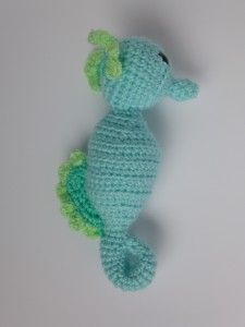 Free PDF Download. Very Nice crochet seahorse