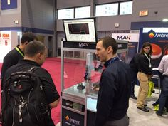 MAX, the world's first induction heating cobot, being shown at #IMTS2016.