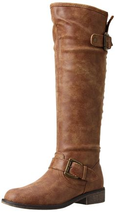 Amazon.com: Madden Girl Women's Cactuss Boot in Cognac Paris, size 7. $53.80