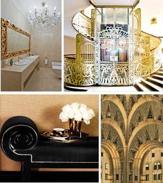 hollywood glamour decor/images | Inspired by: the 20′s, old glamour, the Chrysler building, jazz ...